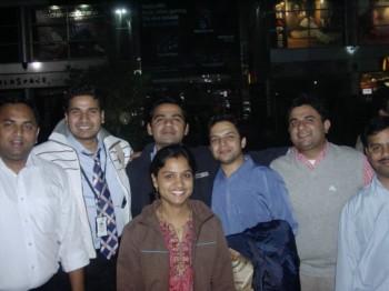 2007Nov29 – IRIS Dinner @ Bauji ka Dhaba, MGF Mall