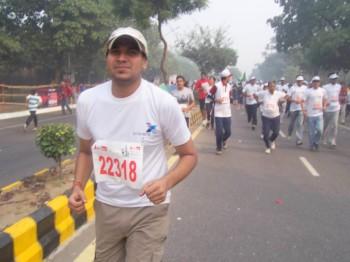 2008Nov09 – Delhi Half Marathon