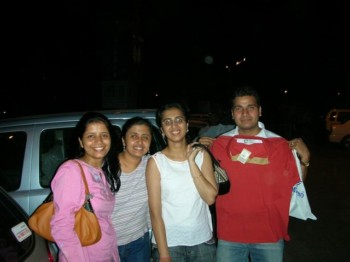 2006Aug19 – Mera and Shilpi's Bday