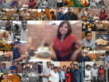 2011Jan10 – Ritika's Farewell @ Barbeque Nation