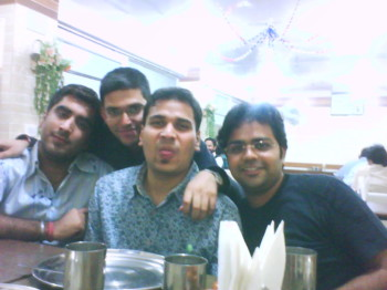 2008Nov15 – Get Together with College Friends @ District Center