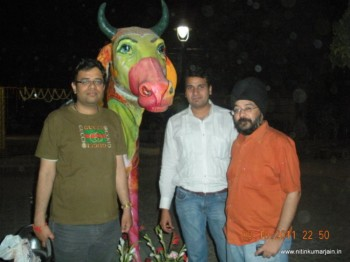 2011Mar19 – Get Together with Xchanging Friends @ Dilli Haat