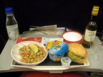 2011Aug – Vegetarian Food in Air France