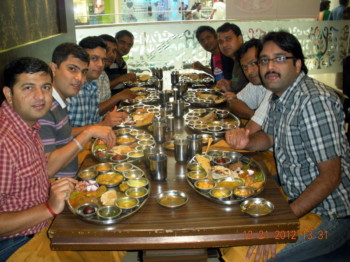 2012Dec21 – Rahul's Farewell Treat @ Rajdhani