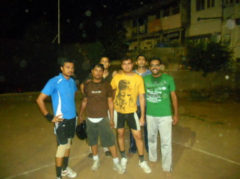 2011May01 – Volleyball Match as Sun Busters @ Deccan Gymkhana Club