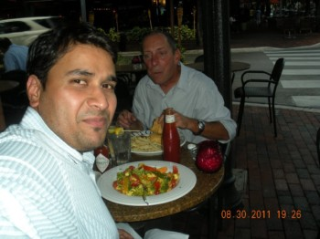 2011Aug30 – Dinner with Tom @ Italian Restra