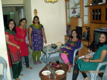 2013Jan12 – Family Dinner @ Pankaj's Home
