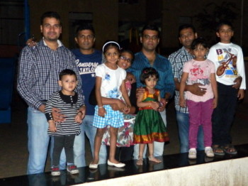 2013Feb09 – Family Dinner @ Nilesh's Home