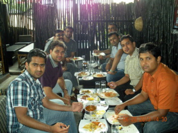 2013Jun28 – Jaydeep's Bday + New Car + 5 Years Lunch @ DTM