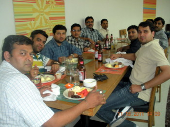 2011Nov18 – Rajesh's Son Lunch @ Indijoe