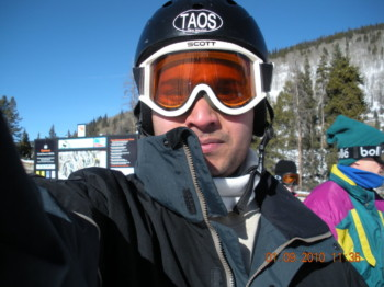 2010Jan09 – Skiing Trip with Tom To Coopers Mountain