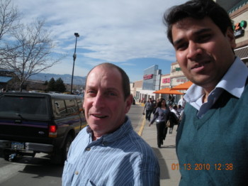 2010Jan13 – Lunch with Tom @ Garbanzo