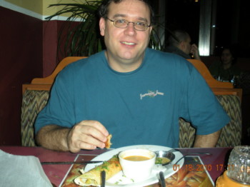 2010Jan18 – Dinner with James @ House of India