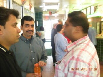 2010Feb01 – Last Day in Miami Office & Team Lunch