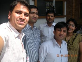 2010Mar04 – Prasanthi's Anniv Party @ Barbeque Nation