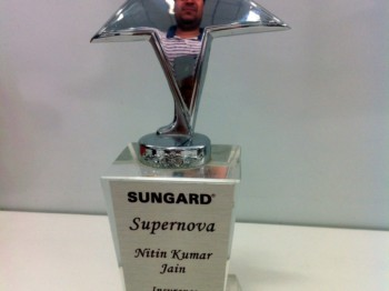 First Supernova Award in SunGard