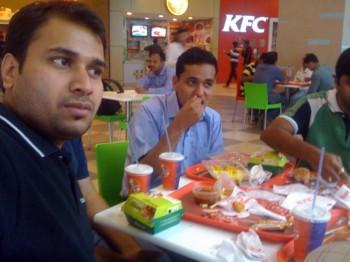 2012Jan20 – Gaurav & Pankaj's Supernova Treat @ KFC