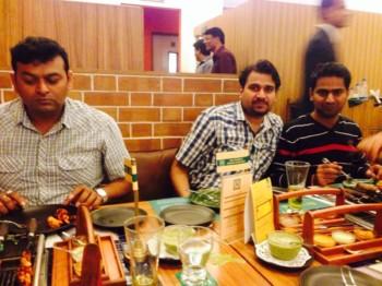 2013Dec19 – Navigator Team Lunch @ Barbeque Nation