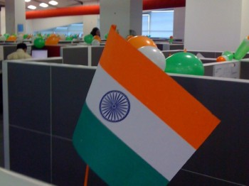 2012Aug14 – Independence Day in Office