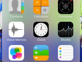 Installed iOS 7