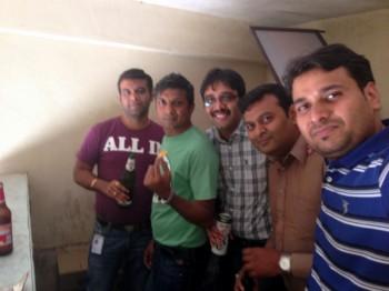 2014Feb28 – Pankaj's Treat @ VIP Lounge & Andhra Mess