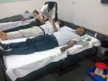2014Apr15 – Blood Donation Camp