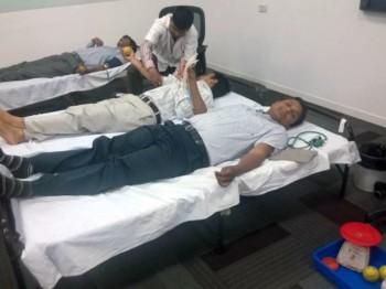 2014Apr15 – Blood Donation Camp