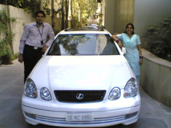 2006Mar23 – With Lexus @ Xchanging