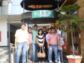 2010Nov26 – Amit's Farewell @ Barbeque Nation
