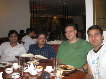 2010May01 – James Welcome Dinner @ Mainland China
