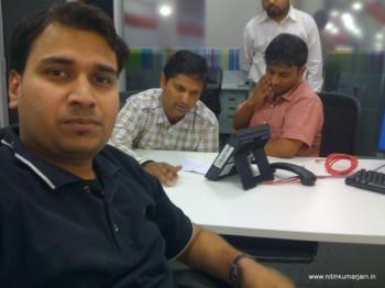 2011Jan11 – Navigator in a Team Meeting