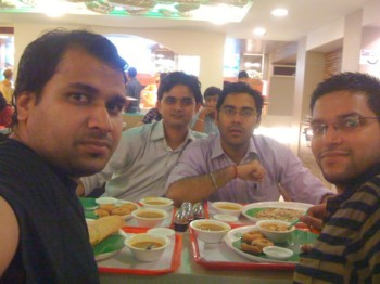 2011Jul23 – With College Friends @ Rajouri Garden [SINGHAM]