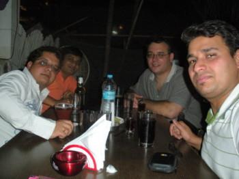2010May06 – Dinner With James @ Shisha & Golconda