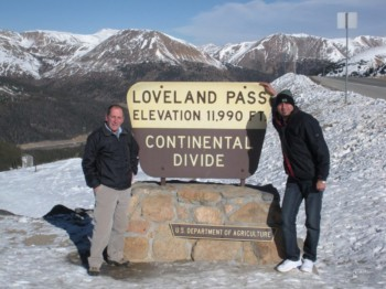 2009Nov21 – A Trip to Loveland Pass with Tom