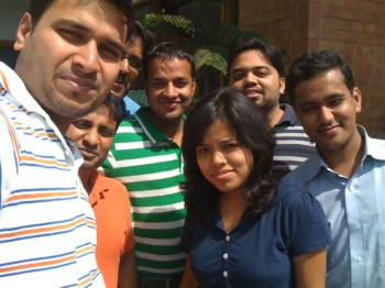 2010Oct01 – Tushar's First Onsite Treat @ Barbeque Nation