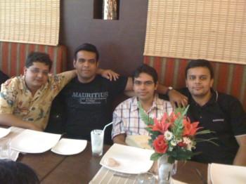 2010Aug06 – Swapnil's Lunch Treat @ Legacy Nawab