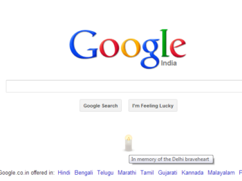 Google pays tribute to Nirbhaya