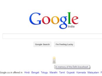 Google pays tribute to Nirbhaya