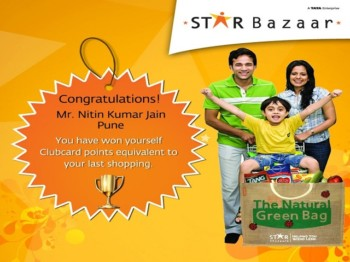 Star Bazaar Winner